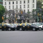 Taxis in Buenos Aires