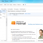 hotmail wave 4